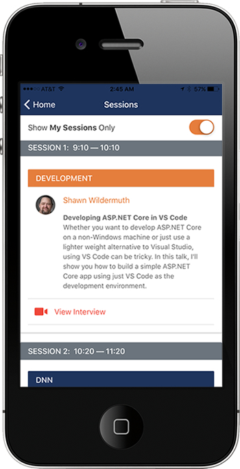 DNN Summit App