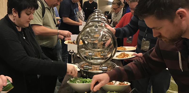 Lunch at DNN Summit