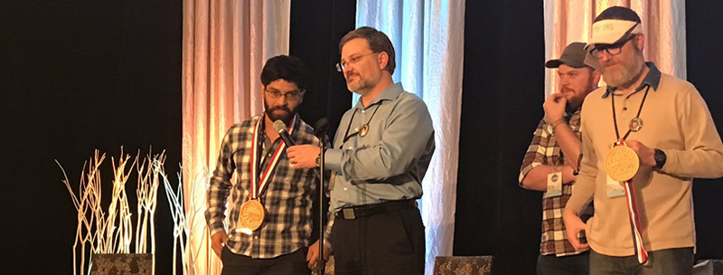 Travel award winner at DNN Summit