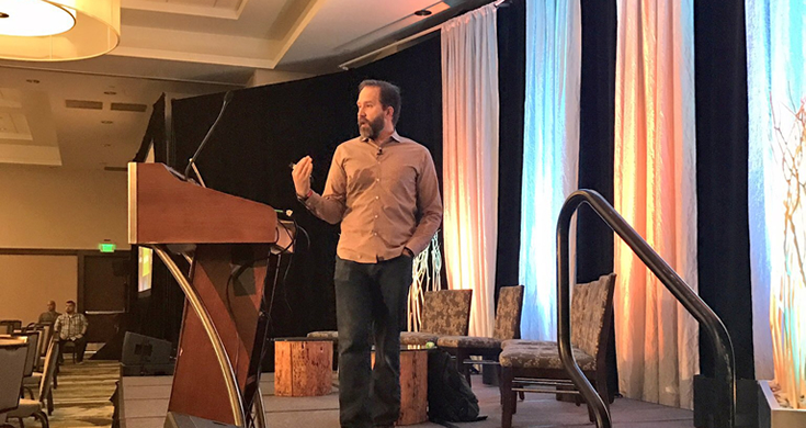 Scott Hanselman speaking at DNN Summit 2017