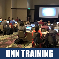 You Should Come to DNN Training!