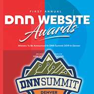 DNN Website Awards to be Announced at DNN Summit