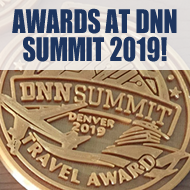 DNN Summit 2019 Awards & Giveaways