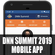 Download the DNN Summit 2019 Mobile App