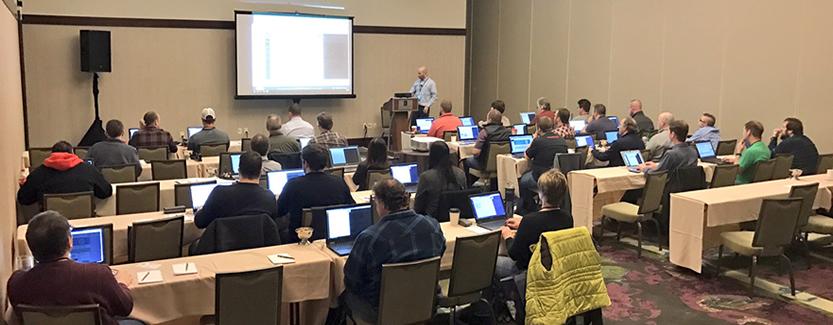 Scott Wilkinson training at DNN Summit
