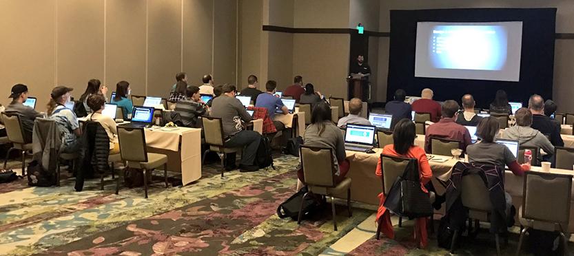 Anthony Overkamp Training at DNN Summit